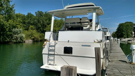 carver aft cabin boats for sale in michigan 1994 used carver 350 aft cabin motor yacht for sale