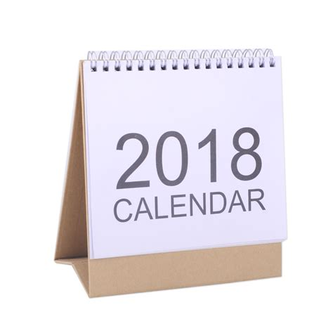 flip over desk calendar 2018 desk top flip calendar month to view stand up office