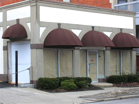 Bullnose Awning by Commercial Gallery