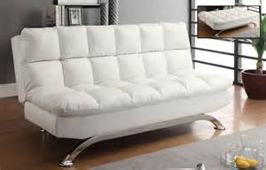 Klik Klak Sofa Bed Worldwide Homefurnishings Inc Sussex Klik Klak Convertible Sofa Bed White The Home Depot Canada