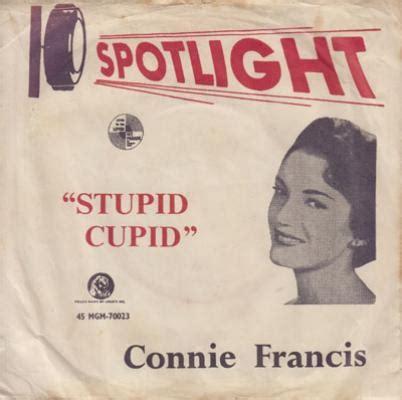 Stupid Cupid stupid cupid connie francis stupid cupid midifiles
