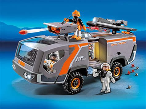 Playmobil Agenten Auto by Playmobil Spy Team Commander Truck 5286 Bei Papiton Bestellen