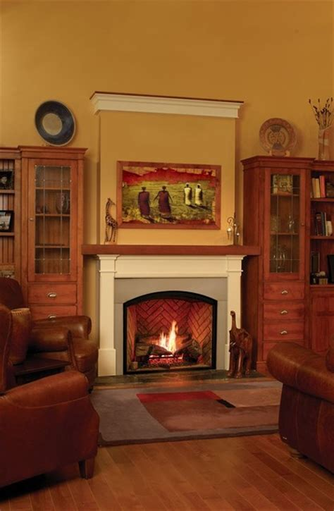 Traditional Gas Fireplace by Town Country Tc36 Arch Gas Fireplace Traditional
