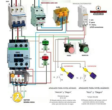 water motor wiring diagram electrical