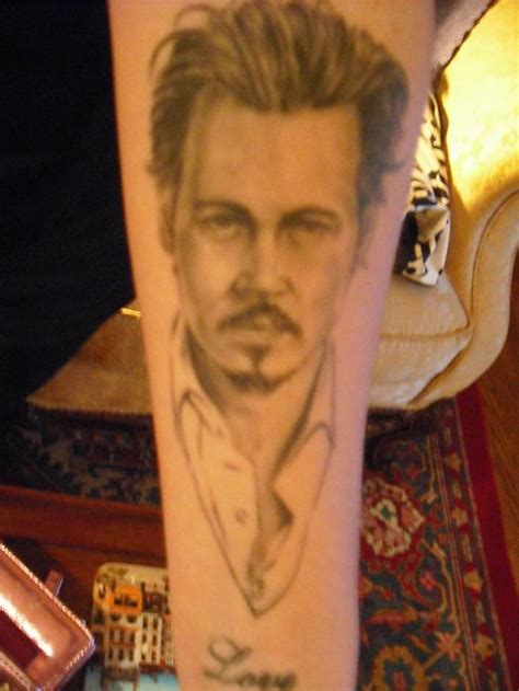 johnny depp tattoo designs johnny depp tattoo tattoo picture