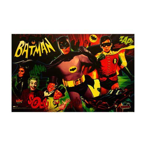 stern batman  pinball translite game room guys