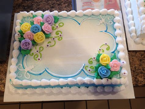 dairy cakes dq cakes dairy floral sheet cake 810
