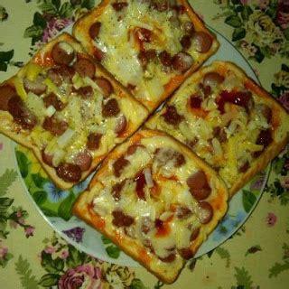 cara membuat pizza roti gardenia hearty honey blog layanzzzz pizza roti gardenia