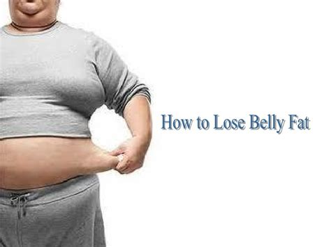 Lose Belly by Loosing Belly