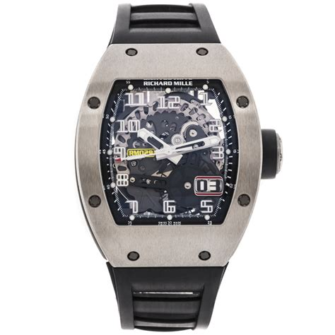 sold listing richard mille oversize date rm029