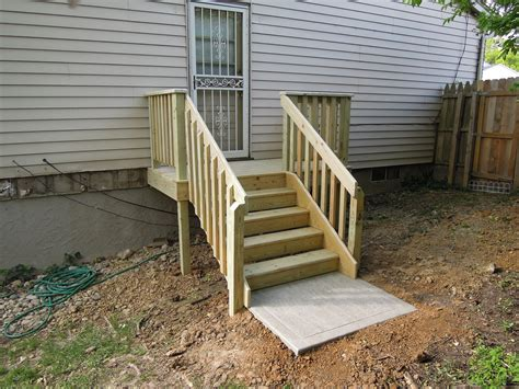 Building Stairs With A Landing simple deck stairs with landing design ideas how to build deck stairs with landing