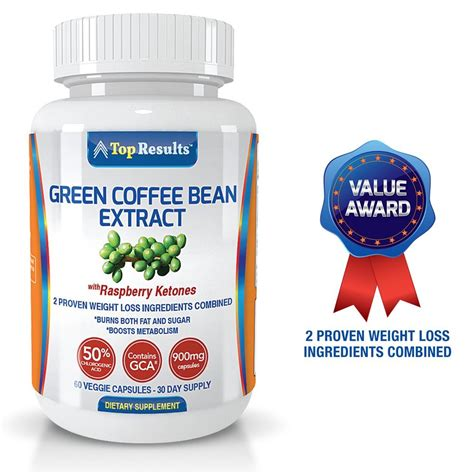 Pure Green Coffee Bean Extract 800mg Pills Dr Oz