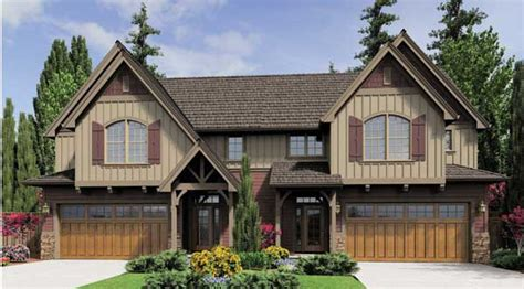 Apartments Above Garages by Benefits Of A Duplex House Plan The House Designers