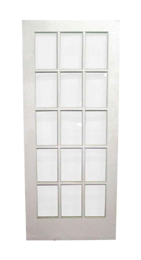 15 Panel French Single Door Olde Good Things 15 Panel Interior Door