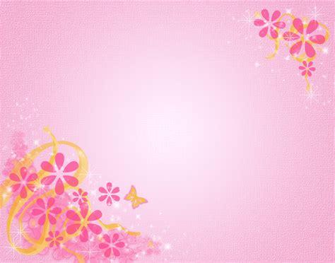Pink Floral Frame Ppt Backgrounds 1024x768 Resolutions Pink Flower Background Powerpoint Backgrounds For Free