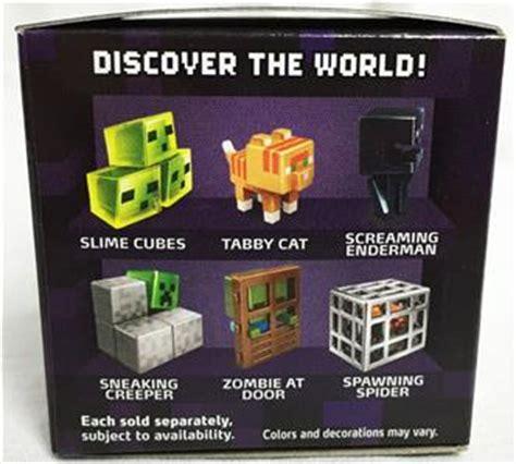 Baju Single Pack Original Mattel minecraft obsidian series 4 blind box 1 in mystery mini