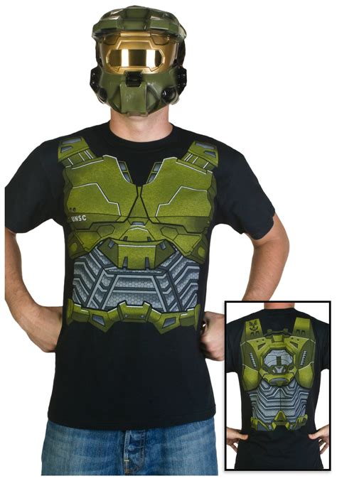 halo spartan armour costume t shirt ebay