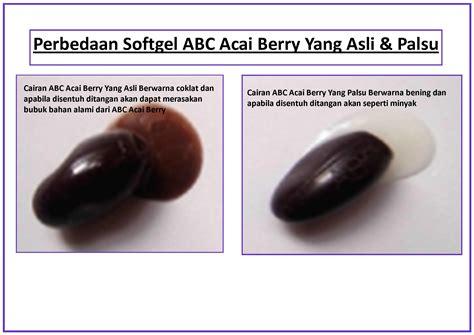 Pelangsing Acai Berry Asli pelangsing abc acai berry 100 pelangsing herbal