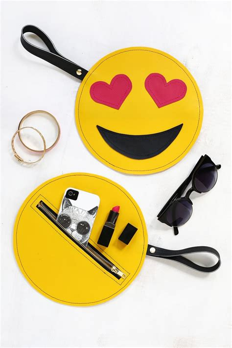 Emoji Clutch DIY! ? A Beautiful Mess