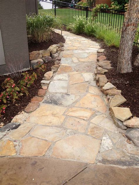 flagstone walk with polymeric sand walkway ideas pinterest sands flagstone and walks
