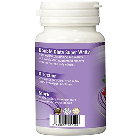 Gluta White Capsule glutathione whitening anti aging skin pills for 450
