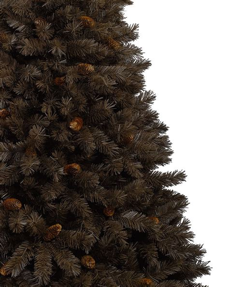 cristmas tree chocolate truffle artificial brown christmas tree treetopia