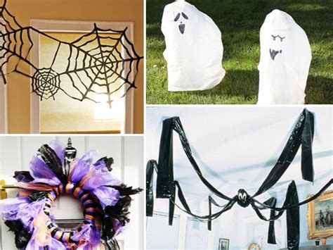how to make scary halloween decorations at home 26 diy ideas how to make scary halloween decorations with trash bags