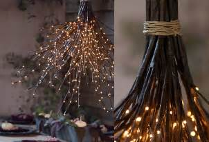 Twig Chandelier Diy How To A Woodland Chandelier In The At Terrain