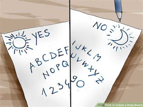 how to create a ouija board with printable ouija board