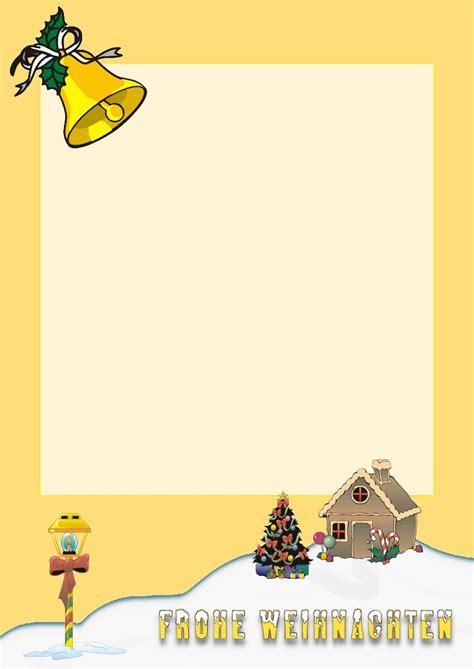 Kostenlose Vorlage Weihnachtsbriefpapier kostenloses briefpapier quot weihnachten quot vorlagen zum