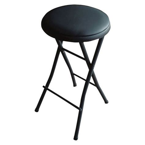 Fold Up Counter Stools by Folding Vinyl Counter Stool Black Plastic Dev
