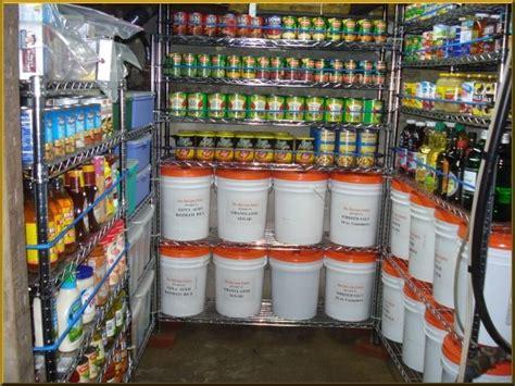 Emergency Food Pantry List survival pantry always be prepared