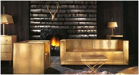 golden furnishers and decorators best gold living rooms