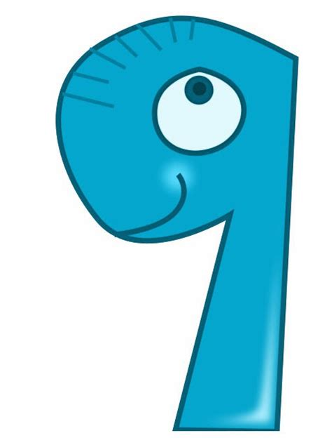 printable animal numbers kids page animal number 9 printable animal numbers
