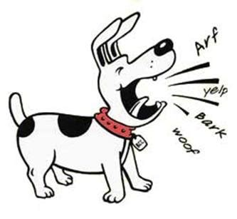 puppy barks barking clipart cliparts co