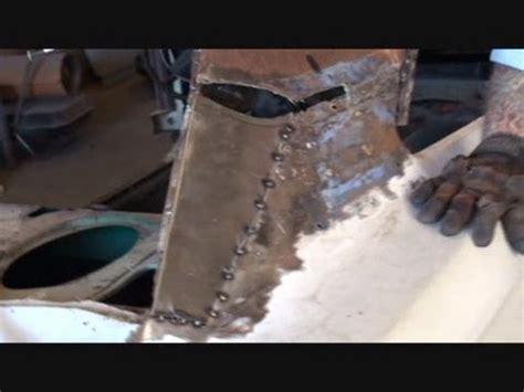 rust repair made easy car roof replacement part 13 using