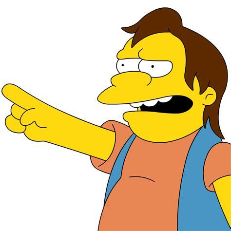 Haha Simpsons Meme - the simpsons nelson haha memes