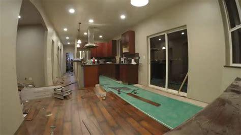 Laminate Floor Installation Time Lapse 1080p   YouTube