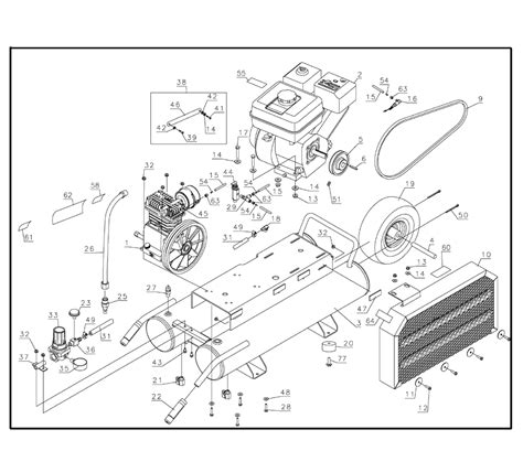 de walt air compressor parts engine diagram and wiring