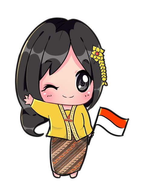 anime indonesia chibi indonesia kirana by bzsarahhime on deviantart