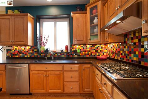 multi color backsplash tile 50 best kitchen backsplash ideas for 2018