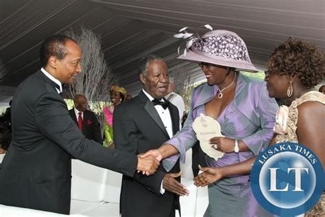 president sata and first lady at bona mugabes wedding in bona mugabe wedding billionaire guest raise eyebrows