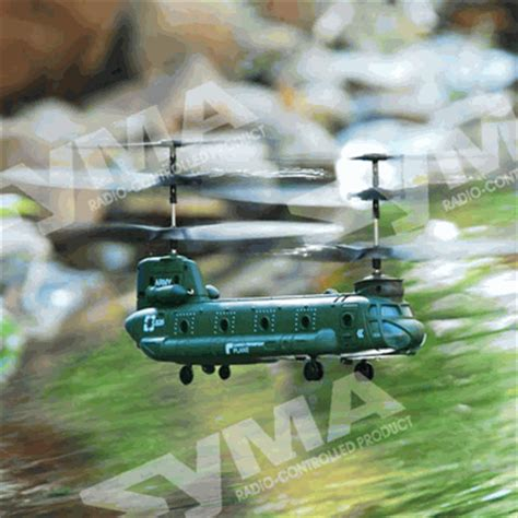 Sale S026 rc mini chinook r c tandem cargo transport plane s026 3ch remote syma helicopter