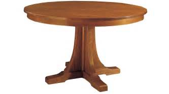 Stickley Dining Table Stickley Craftsman Pedestal Dining Table