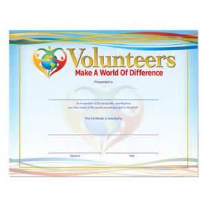 printable volunteer appreciation certificates just b cause