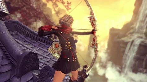 blade soul  class archer unreal engine  trailer webissimobiz    links
