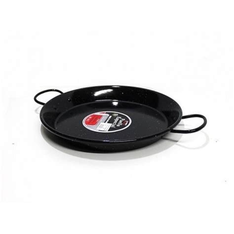 large induction paella pan 34 cm enamel induction paella pan for 6 paella induction