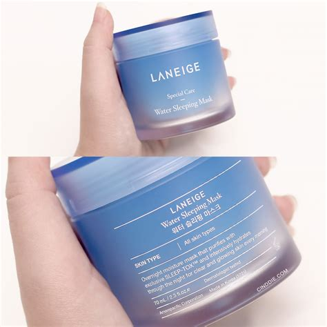 Laneige Water Sleeping Mask Lavender Limited Edition review laneige water sleeping mask lavender reviews