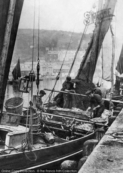 a history of mevagissey books mevagissey harbour a fishing boat 1898 francis frith