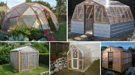 easy diy  greenhouse plans beauty  planet earth